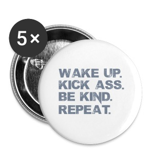 Wake Up. - Small Buttons