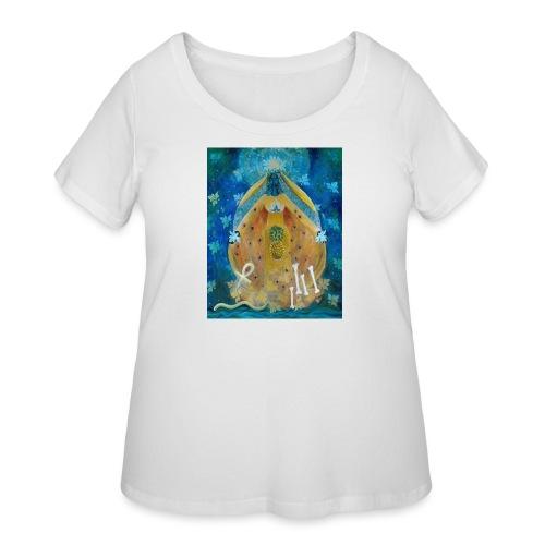 The Cosmic Shakti, Men's Ringer T-shirt.  - Women's Curvy T-Shirt