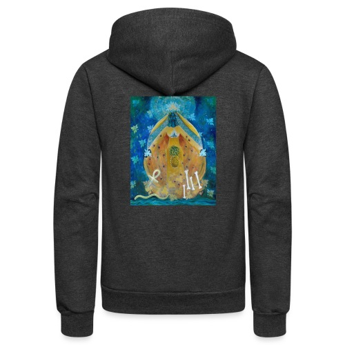 The Cosmic Shakti, Men's Ringer T-shirt.  - Unisex Fleece Zip Hoodie
