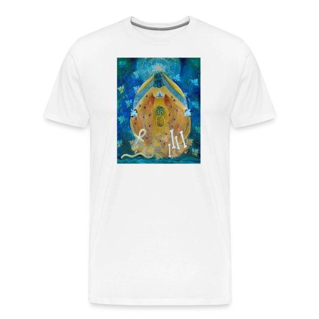 The Cosmic Shakti, Men's Ringer T-shirt.