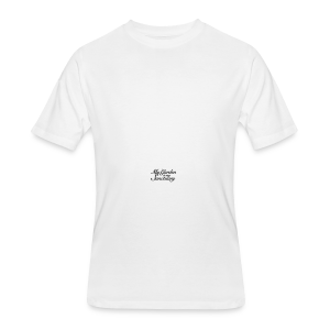 Garden Quote Mug Sanctuary - Men's 50/50 T-Shirt