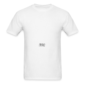 Garden Quote Mug Sanctuary - Men's T-Shirt