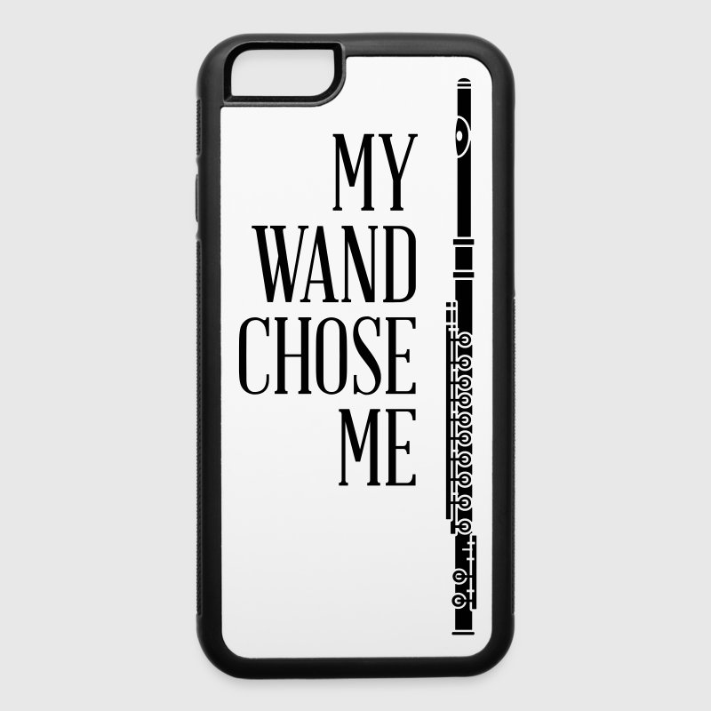 My wand chose me - flute - iPhone 6/6s Rubber Case