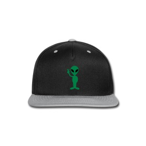 Hello Alien T-shirt - Snap-back Baseball Cap