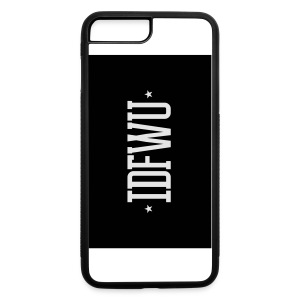 #IDFWU - iPhone 6 Rubber Case - iPhone 7 Plus/8 Plus Rubber Case