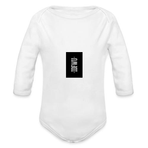 #IDFWU - iPhone 6 Rubber Case - Organic Long Sleeve Baby Bodysuit