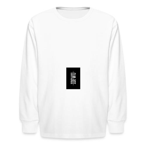 #IDFWU - iPhone 6 Rubber Case - Kids' Long Sleeve T-Shirt