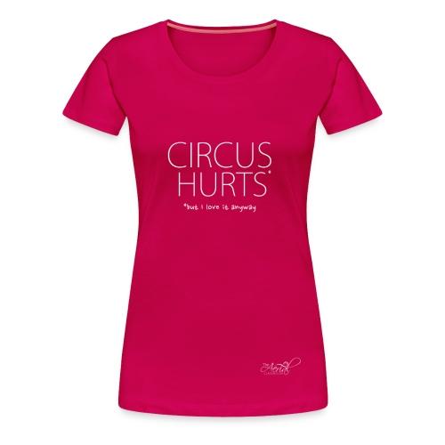 CIRCUS HURTS tank - Women's Premium T-Shirt