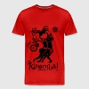 kizomba couple black&white.png T-Shirts - Men's Premium T-Shirt
