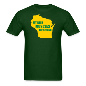 Beer Muscles - Men's T-Shirt
