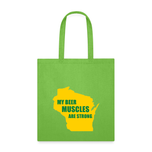Beer Muscles - Tote Bag