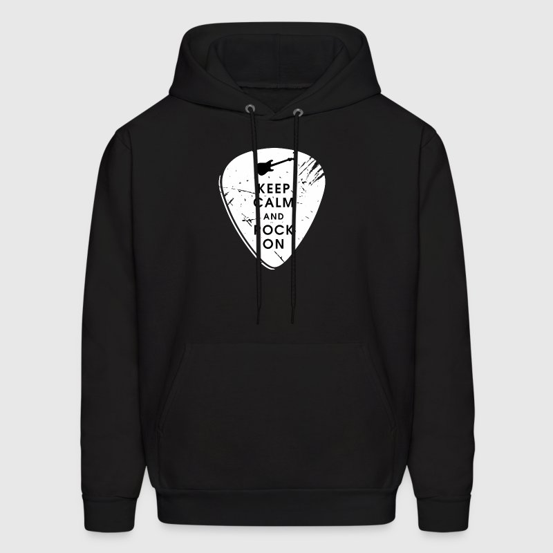 Keep calm and rock on Hoodies - Men's Hoodie