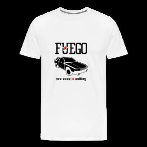 Rogue Fuego With (Brown/Orange) - Men's Premium T-Shirt