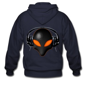 Alien beat - Men's Zip Hoodie
