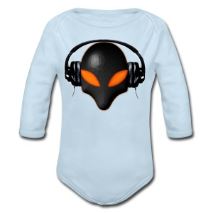 Alien beat - Long Sleeve Baby Bodysuit