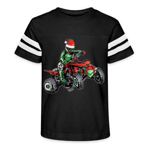Christmas Quad - Kid's Vintage Sport T-Shirt