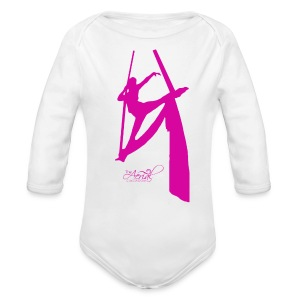Kids tissu t-shirt - Long Sleeve Baby Bodysuit