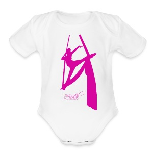 Kids tissu t-shirt - Short Sleeve Baby Bodysuit