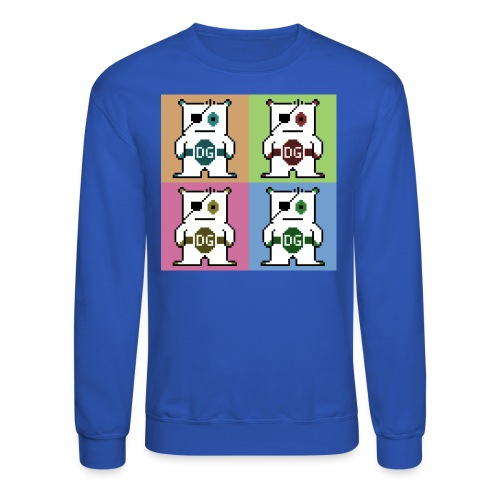 Mens Pop Art T-Shirt - Crewneck Sweatshirt