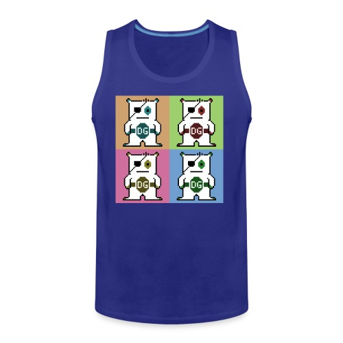 Mens Pop Art T-Shirt - Men's Premium Tank