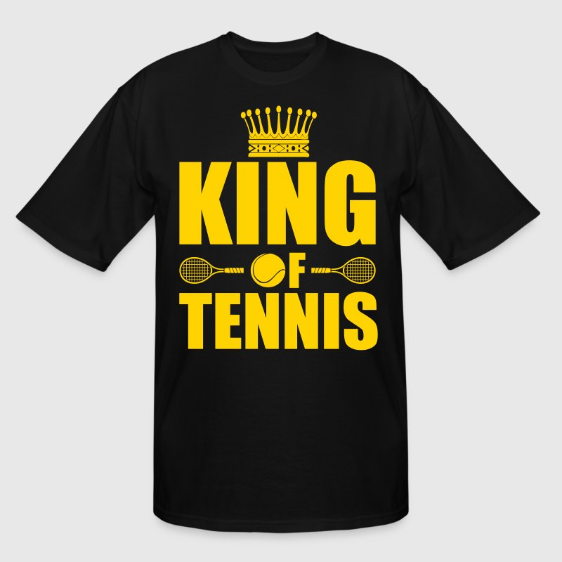 King of Tennis  T-Shirts - Men's Tall T-Shirt