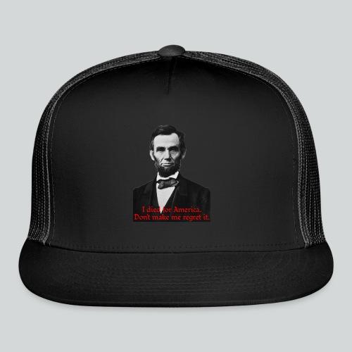 Abraham Lincoln's American Pride - Trucker Cap