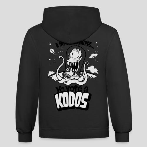 Los Simpson: Yo Voté a Kodos [ESP] - Contrast Hoodie
