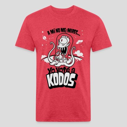 Los Simpson: Yo Voté a Kodos [ESP] - Fitted Cotton/Poly T-Shirt by Next Level