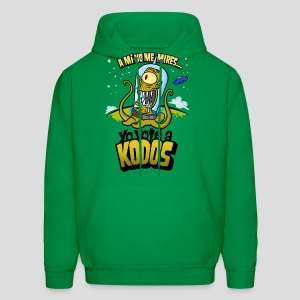 Los Simpson: Yo Voté a Kodos (color) [ESP] - Men's Hoodie