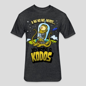 Los Simpson: Yo Voté a Kodos (color) [ESP] - Fitted Cotton/Poly T-Shirt by Next Level