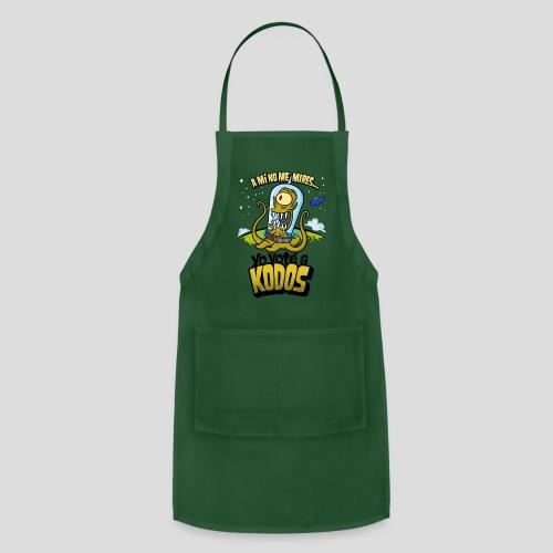 Los Simpson: Yo Voté a Kodos (color) [ESP] - Adjustable Apron