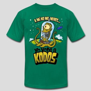 Los Simpson: Yo Voté a Kodos (color) [ESP] - Men's Fine Jersey T-Shirt