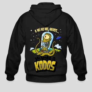 Los Simpson: Yo Voté a Kodos (color) [ESP] - Men's Zip Hoodie