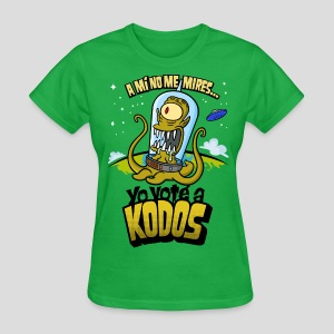Los Simpson: Yo Voté a Kodos (color) [ESP] - Women's T-Shirt