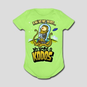 Los Simpson: Yo Voté a Kodos (color) [ESP] - Short Sleeve Baby Bodysuit