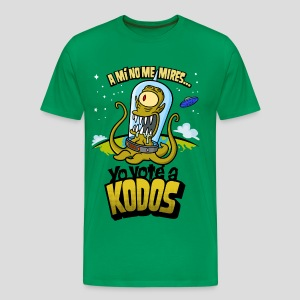 Los Simpson: Yo Voté a Kodos (color) [ESP] - Men's Premium T-Shirt