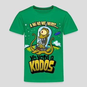 Los Simpson: Yo Voté a Kodos (color) [ESP] - Toddler Premium T-Shirt