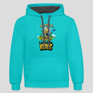 The Simpsons: I Voted for Kodos (color) - Contrast Hoodie
