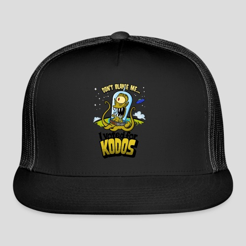 The Simpsons: I Voted for Kodos (color) - Trucker Cap