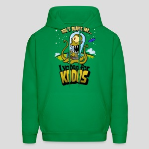 The Simpsons: I Voted for Kodos (color) - Men's Hoodie