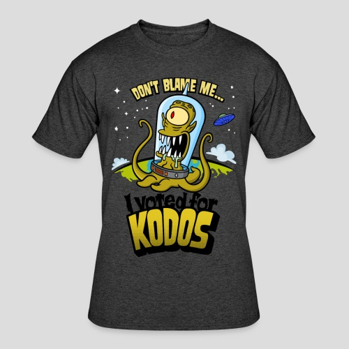 The Simpsons: I Voted for Kodos (color) - Men's 50/50 T-Shirt
