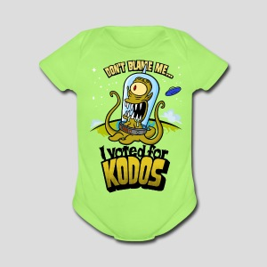 The Simpsons: I Voted for Kodos (color) - Short Sleeve Baby Bodysuit