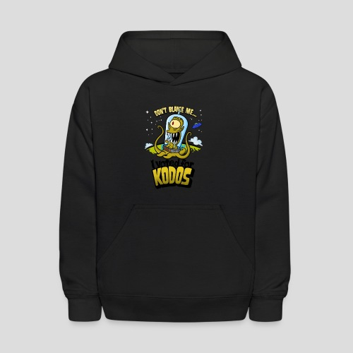 The Simpsons: I Voted for Kodos (color) - Kids' Hoodie