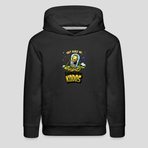 The Simpsons: I Voted for Kodos (color) - Kids' Premium Hoodie