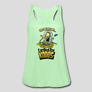 The Simpsons: I Voted for Kodos (color) - Women's Flowy Tank Top by Bella