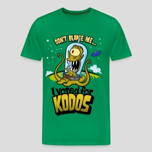 The Simpsons: I Voted for Kodos (color) - Men's Premium T-Shirt