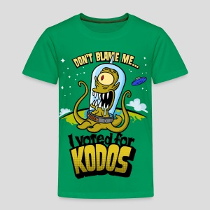 The Simpsons: I Voted for Kodos (color) - Toddler Premium T-Shirt