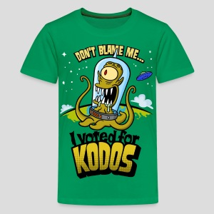 The Simpsons: I Voted for Kodos (color) - Kids' Premium T-Shirt