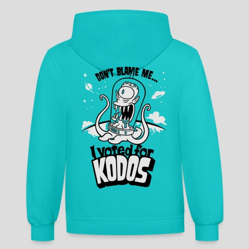 The Simpsons: I Voted for Kodos - Contrast Hoodie