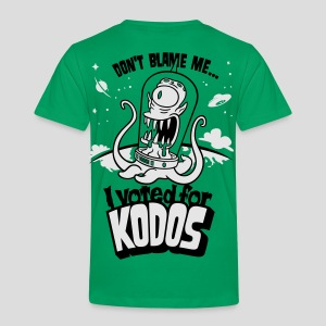 The Simpsons: I Voted for Kodos - Toddler Premium T-Shirt